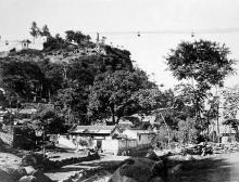 Aerial ropeway - location in HK unknown