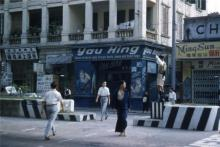1950s Nathan Road near Chung King Arcade