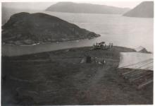 Anti-aircraft guns at Cape D'Aguilar