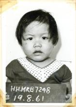 1961 Kowloon City Pier - child abandoned is looking for her parents