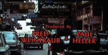 Enter the Dragon - opening credits street