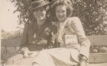 Doris & Veronica Walker, Blue Mountains 1946