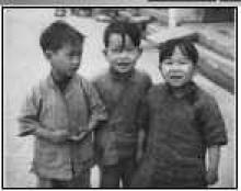 Some children of Stanley, Hong Kong, China, 1949 - Maryknoll collection at University of Southern California