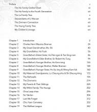 Tracing My Children's Lineage - Table of Contents