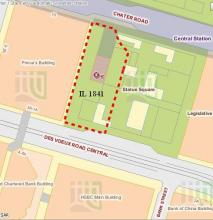 Inland Lot 1841 - part of Statue Square - owned by HSBC