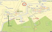 Eyrie site on 2014 map - 2 of 2 (detail)