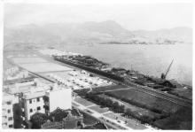 Fei Express into Kowloon from Canton - New Territories in background