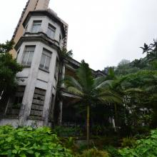 abandoned mansion on 66 Kennedy Road