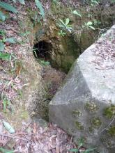 Back of AOP, and entrance to tunnel