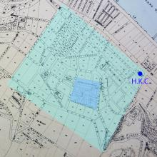 1874 Map of Central