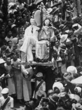 Detail of King George V Silver Jubilee Procession