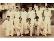 Combined Schools cricket team in 1950