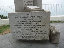 War Memorial Hospital foundation stone