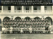Group HK Police Kowloon 11 Apr 1956