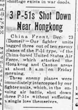 Air Raids on Hong Kong-1944