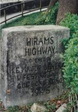 1997 Hiram's Highway Completion Stone