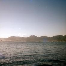 Lion Rock from the Sea