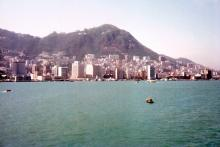Hong Kong Harbour 1964