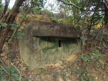Japanese Pillboxes at Shek Chung Au (石涌凹)