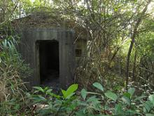 Japanese Pillboxes at Pak Kung Au (伯公坳), Sha Tau Kok, North District, NT