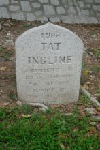 2011 Jat Incline Marker Stone (Front)
