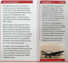Spitfire VN485-exhibit sign