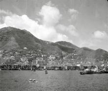 Hong Kong Harbour 1950's