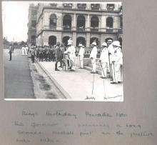The King's Birthday parade, 1930