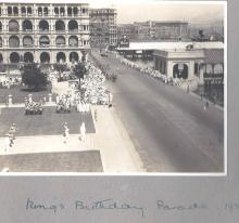 The King's Birthday parade, 1931
