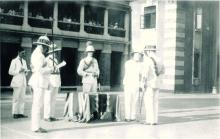Presentation of the King's Police Medal to William Murison