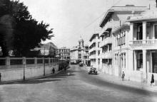 Leighton Road in 1950s