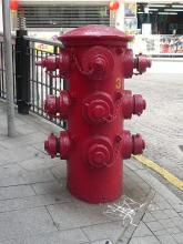 Old Fire Hydrant - Junction of Hollywood Rd and Lyndhurst Terrace