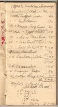 Tom Hutchinson's War Diary - Page 1