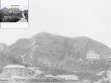 Zoom-in 2 of 1920s Houses at the Peak