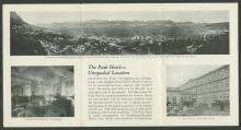 Peak Hotel Brochure - 1 of 2