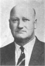 Percy Lowe,  Act Chief Superintendent of Police
