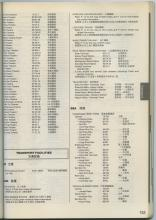 1990 List of Ferry Routes