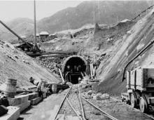1909 Beacon Hill Tunnel (South Portal)