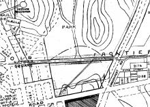 1930 Map of Boundary Street