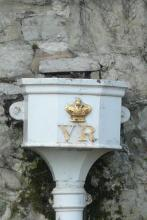 Victoria Monogram - Tower of London