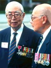 Raymond Mok, with Osler Thomas, 2005