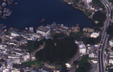 Aerial View of Sai Kung Town 1983