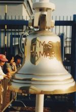 HMS Tamar Ship's Bell (Stonecutters Island)