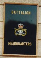 Battalion HQ Sign (Stonecutters Island)