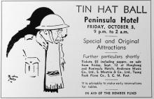 Tin Hat Ball-Peninsula Hotel