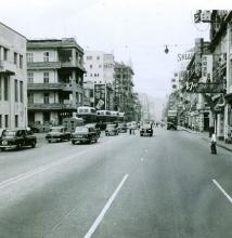 Nathan Road Kowloon 1958