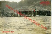 Typhoon 1923 - Hong Kong Habour Damage + Sunken Ship