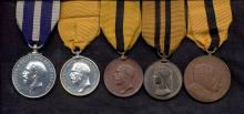 William Murison's medals