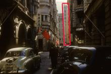 Fu House, highlighted in red in 1960s