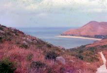 1981 - walking from Fan Lau to Tung Chung